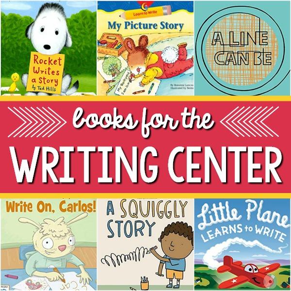 Writing Center Books for Preschool