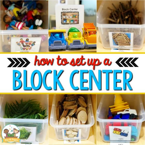 Block Center Set Up Ideas for Preschool