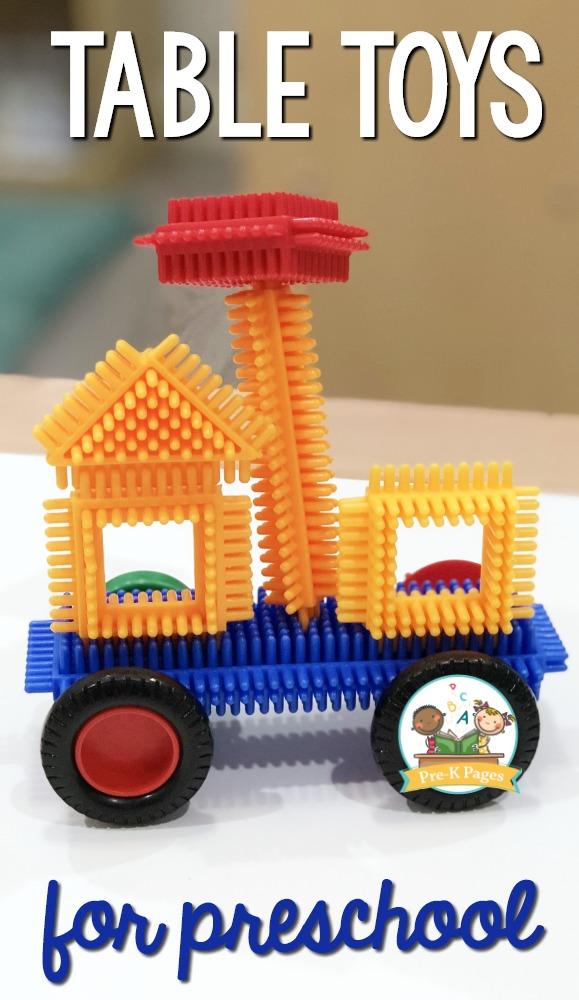 Bristle Blocks for Preschool