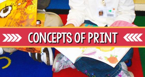 Concepts of Print in Preschool