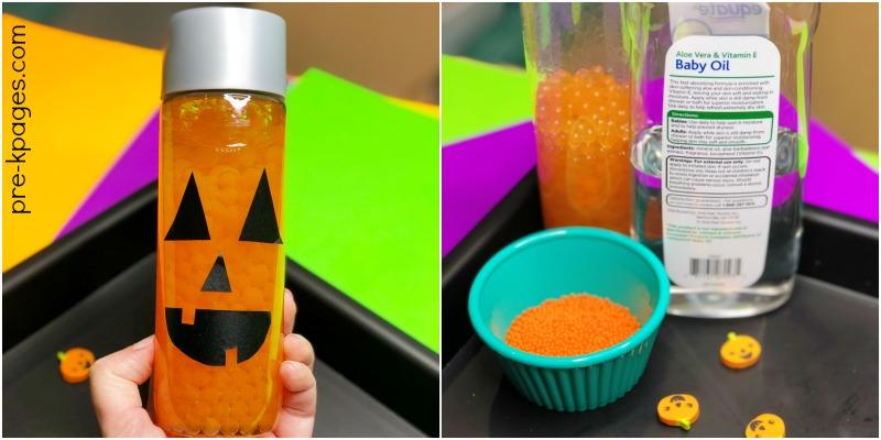 Halloween Calm Down Bottle