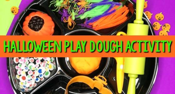 Halloween Playdough Activity