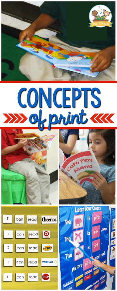 How to Teach Concept of Word in Preschool