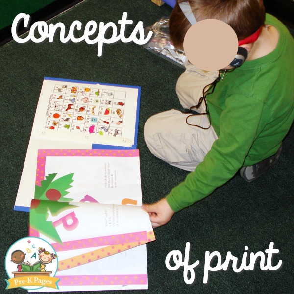 How to Teach Concepts of Print
