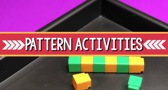 Pattern Activities for Preschool