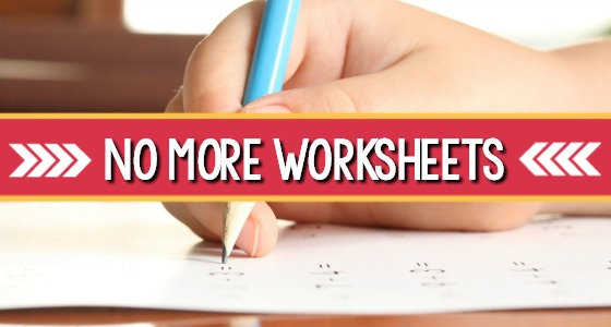 How To Teach Without Using Worksheets In Preschool