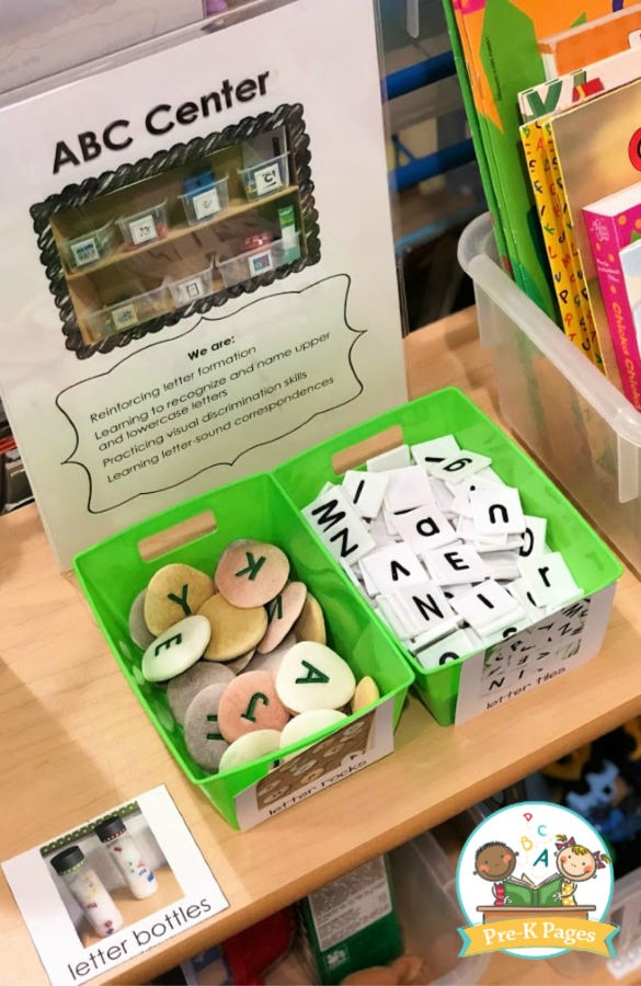 Letter Tiles and Letter Rocks