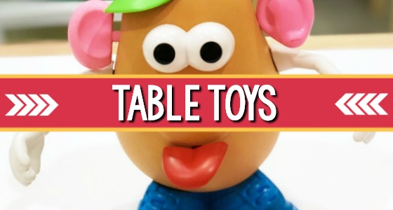 Table Toys for Preschool