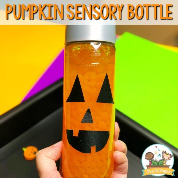 Halloween Sensory Bottle