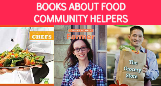 Community Helper Books About Food-Related Jobs