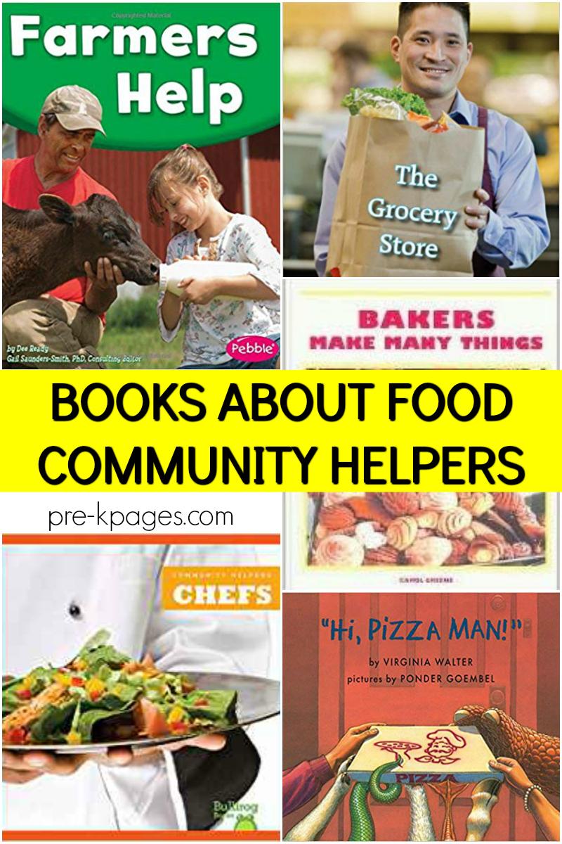 community helper books about food helpers