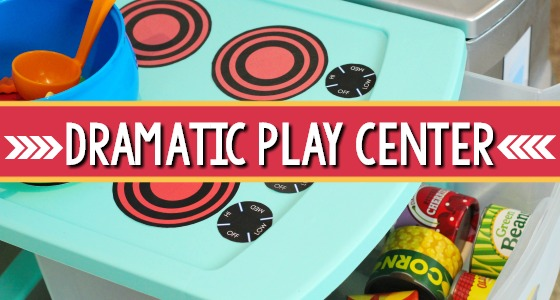 Dramatic Play Center Set Up in Preschool