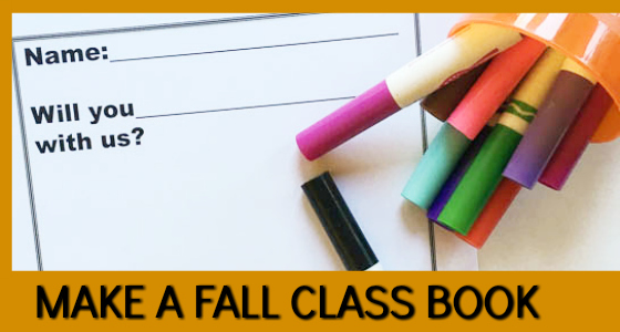 Busy Squirrel Class Book for Fall