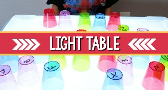 Light Table Center
