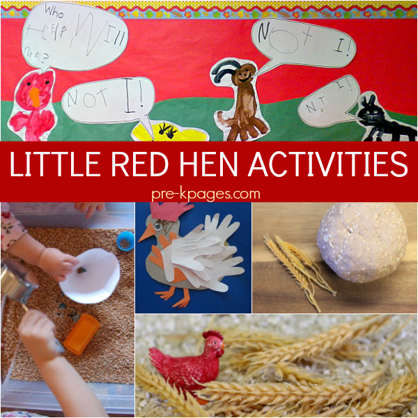 little red hen harvest pre-k