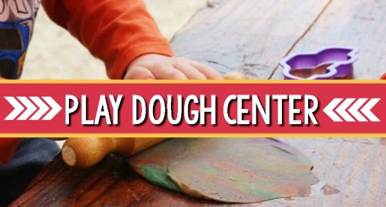 Preschool Play Dough Center