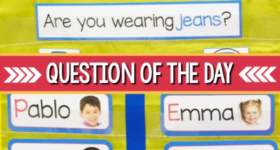 Question of the Day in Preschool