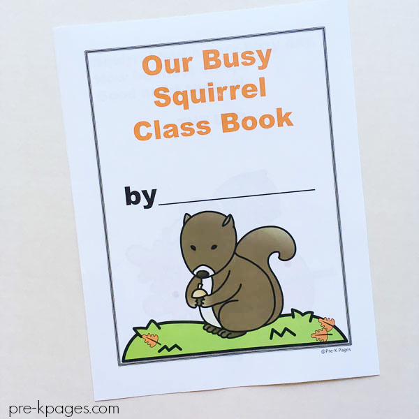 busy squirrel book cover