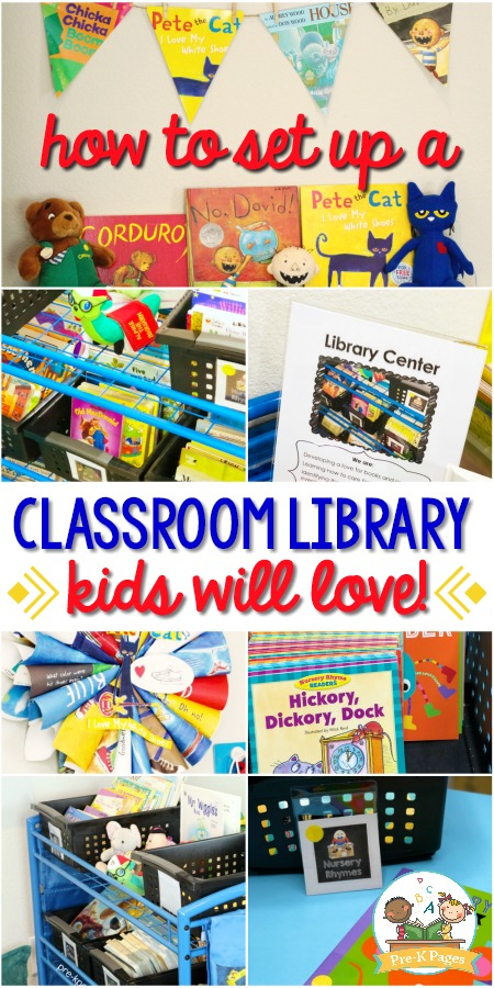 How to Set Up a Classroom Library