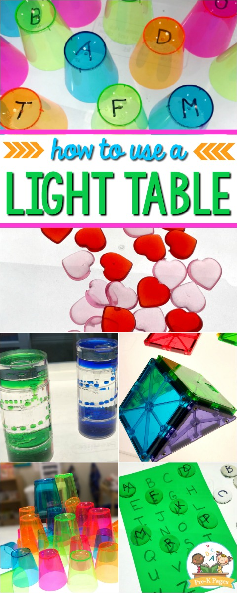 How to Use a Light Table