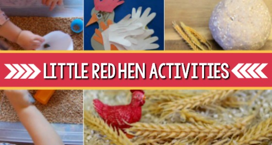 Little Red Hen Activities for Fall