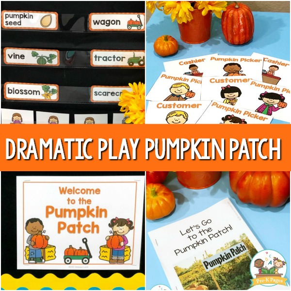 Pretend Play Pumpkin Patch