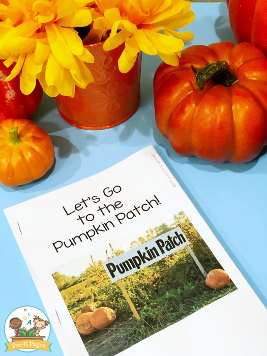 Printable Pumpkin Patch Book