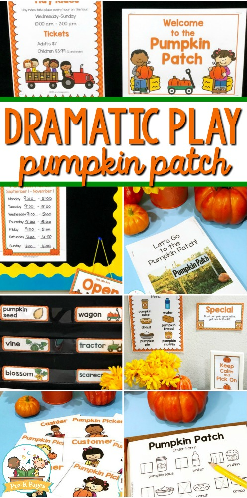 Pumpkin Patch Dramatic Play Theme