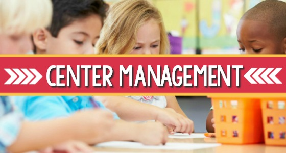 Center Time Management for Preschool and Pre-K
