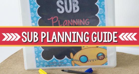 Substitute Teacher Planning Tool