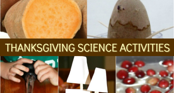 Thanksgiving Science Activities for Preschoolers