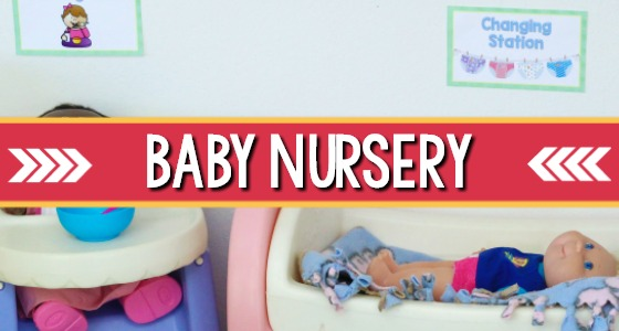 Baby Doll Nursery Dramatic Play