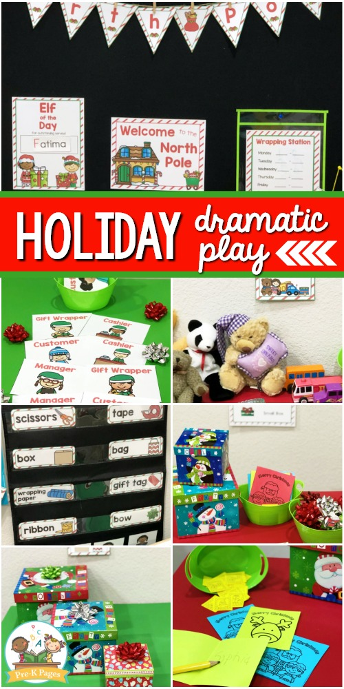 Christmas Dramatic Play Theme