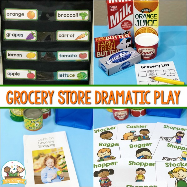 Dramatic Play Grocery Store Theme