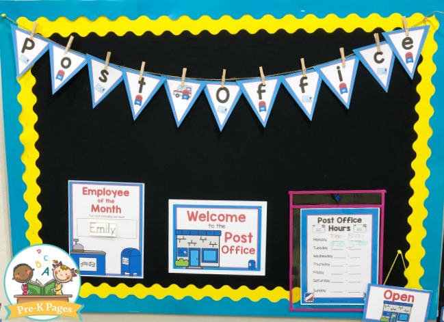 Dramatic Play Post Office Theme Printables