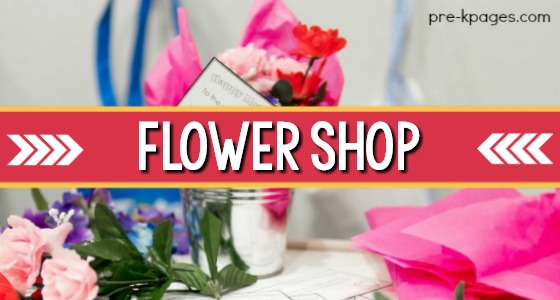 Flower Shop Springtime Dramatic Play Center