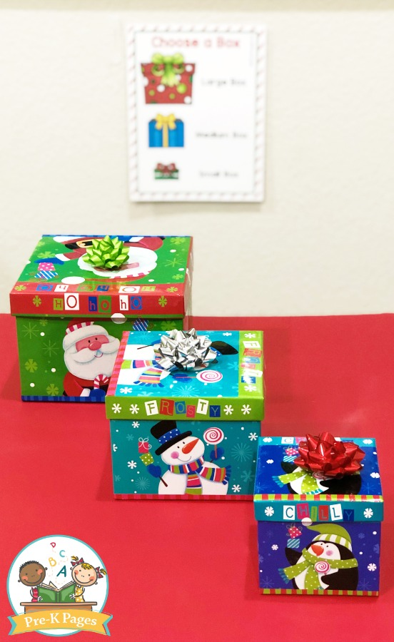 Gift Boxes for Holiday Pretend Play