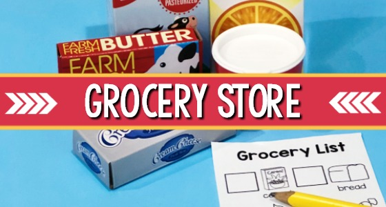 Grocery Store Pretend Play Center