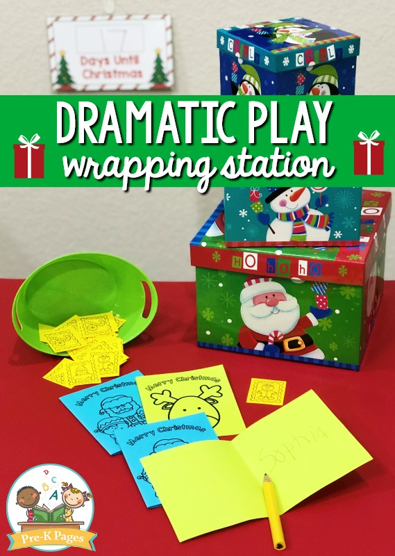 Holiday Dramatic Play Theme for Preschool