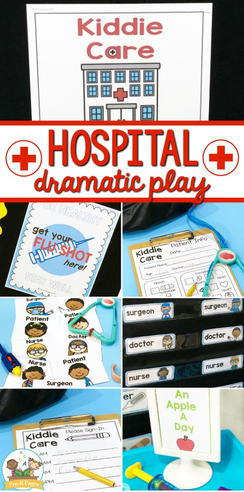 Hospital Dramatic Play Center