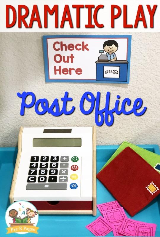 Mail Theme for Preschool
