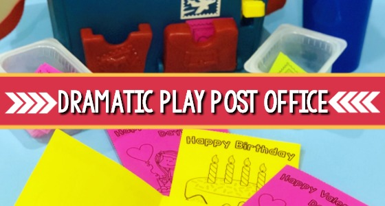 Post Office Theme for Preschool
