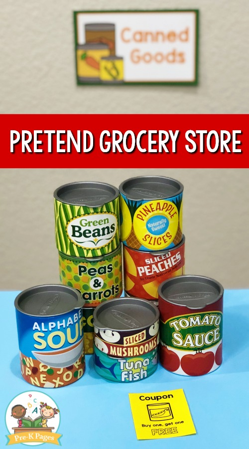 Pretend Play Grocery Store