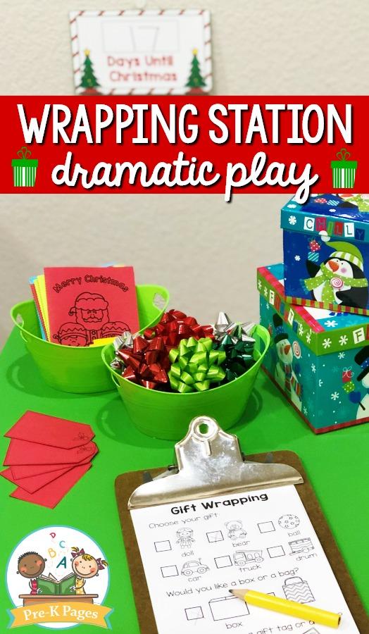 Santas Workshop Dramatic Play Center