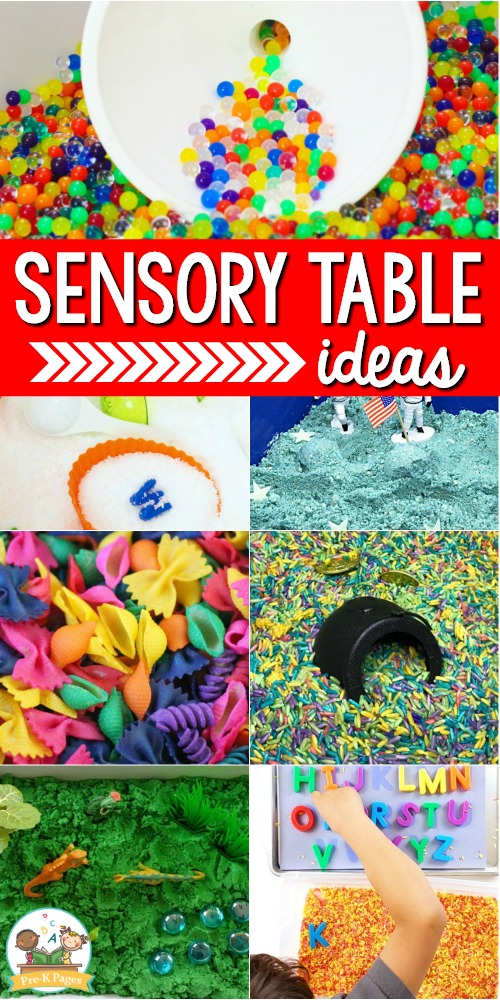 Sensory Table Ideas for Preschool
