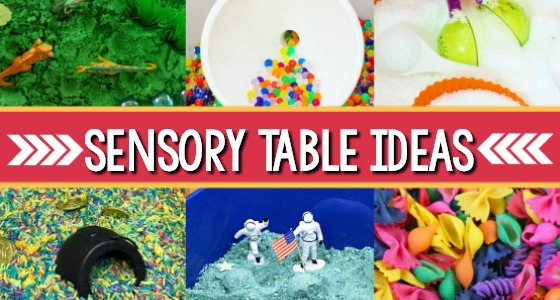 Sensory Table Ideas for Preschool and Pre-K