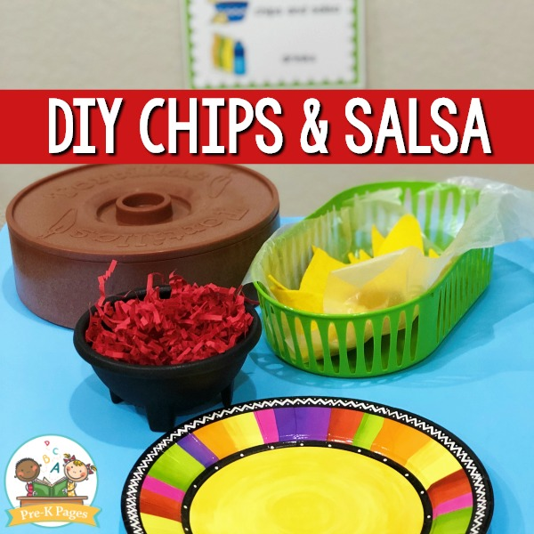 Taco Truck Chips and Salsa Pretend Play