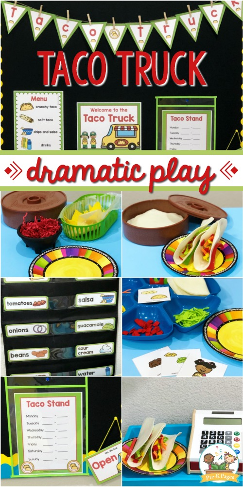 Taco Truck Dramatic Play Theme