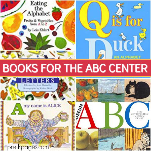 abc alphabet center pre-k books