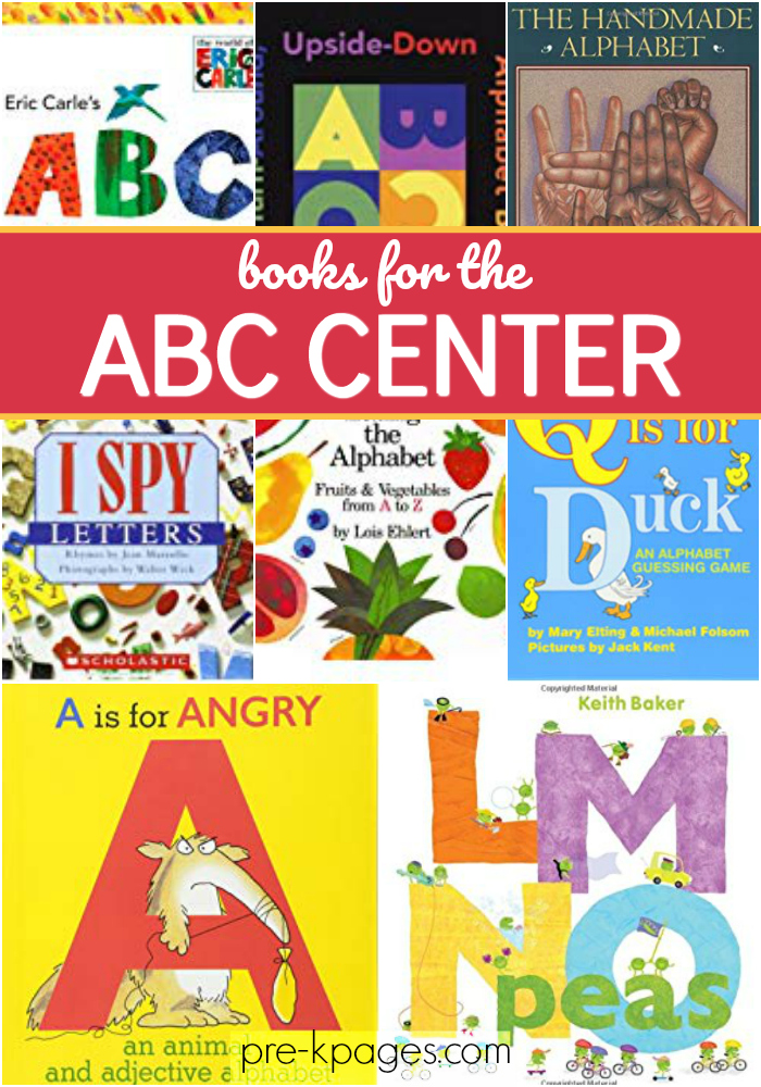 abc center books for preschool